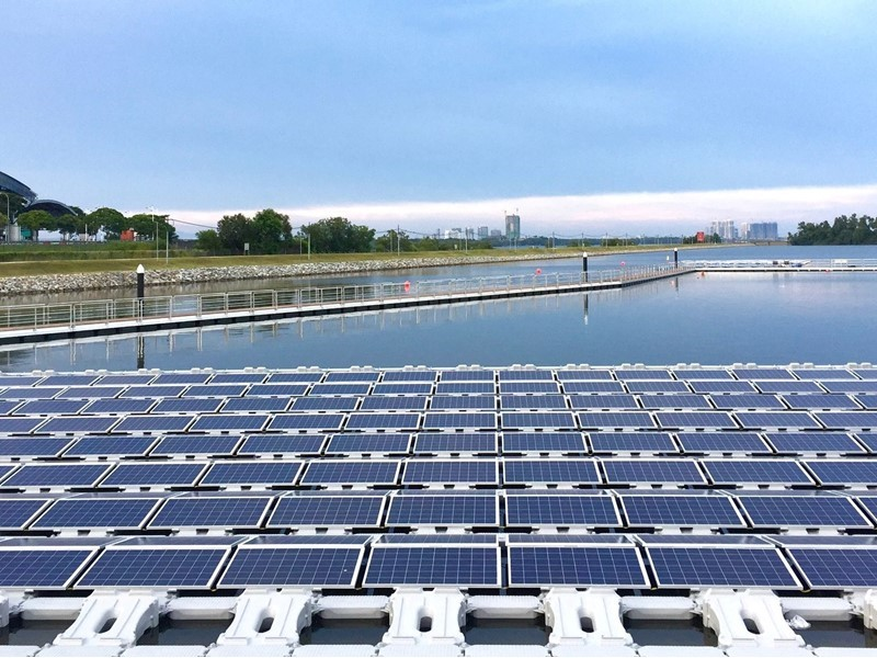 World's largest floating photovoltaic test-bed features ABB technology