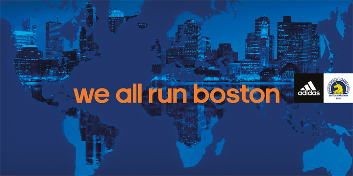 adidas Supports Boston Marathon World Run Through #WeAllRunBoston
