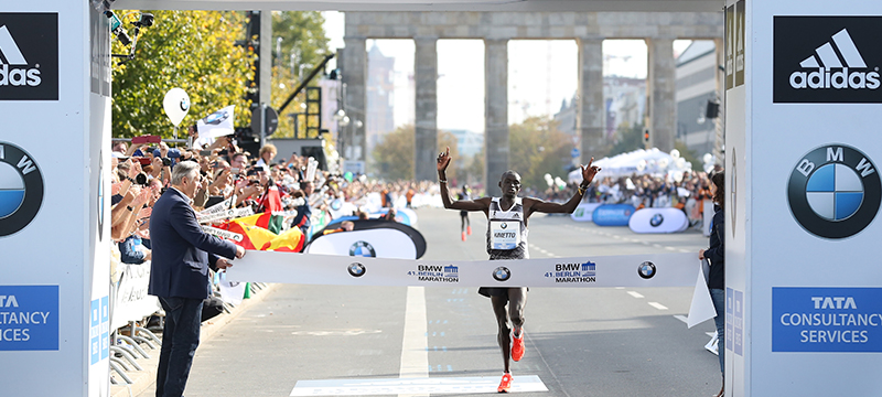 Dennis Kimetto Smashes Marathon Record in adidas Boost