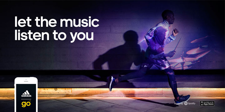 adidas Partners With SpotifyTo Release First Of Its Kind Running App