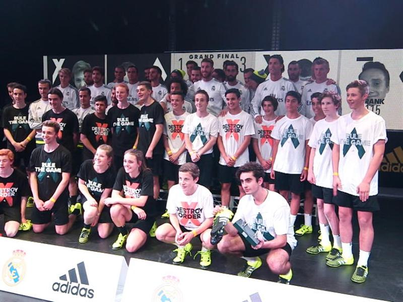 Real Madrid Players Surprise Junior Melbourne Footballers at Local ACE & X Tournament