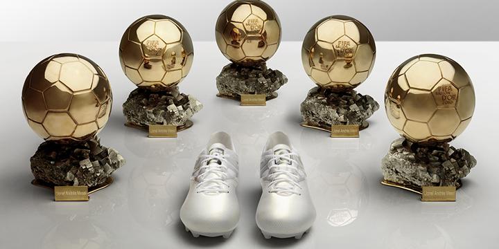 adidas Celebra il Quinto Pallone d'Oro del Campione Argentino con le Platinum Messi 15