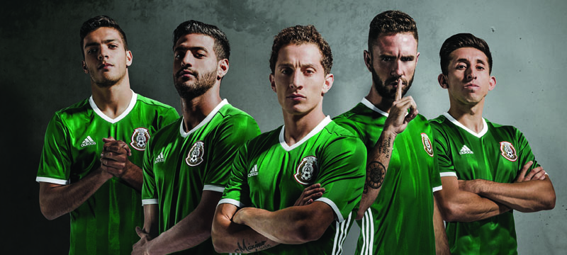 adidas reveals new kit for Mexico's National Football Team