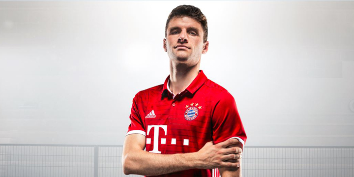 Mia san rot-weiß: Neues Trikot für FC Bayern