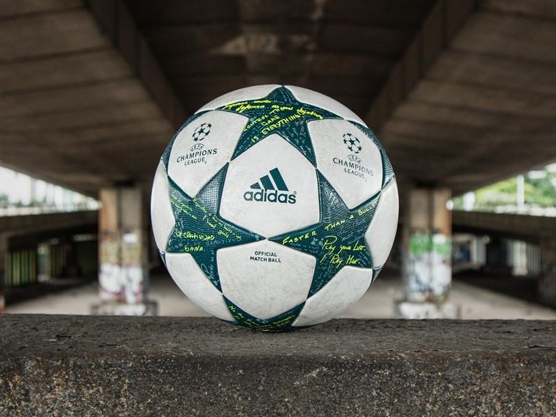 adidas dezvăluie mingea oficială pentru faza grupelor din UEFA Champions League în sezonul 2016/17