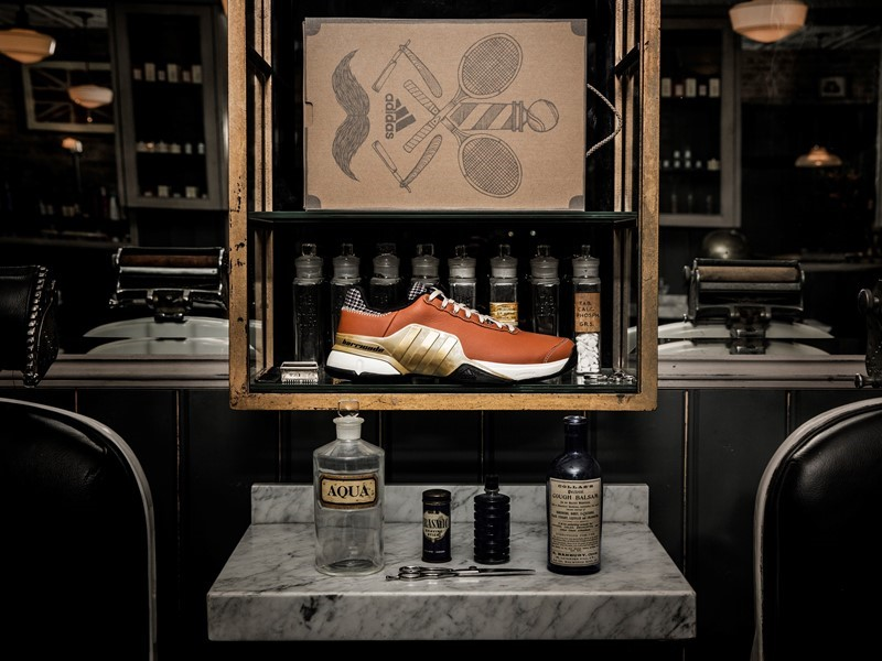 adidas Launches Limited Edition Barricade Inspired by Traditional Barber Shop Textures
