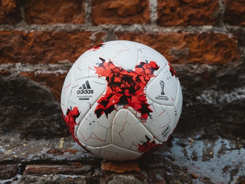 adidas представляет Krasava, официальный мяч Кубка конфедераций 2017