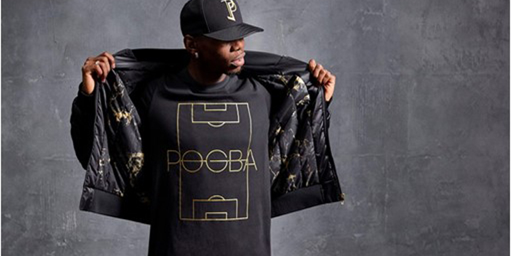 Paul Pogba präsentiert erste eigene Kollektion mit adidas