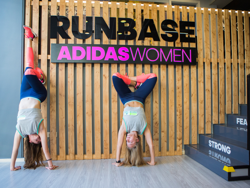 adidas Women launch event