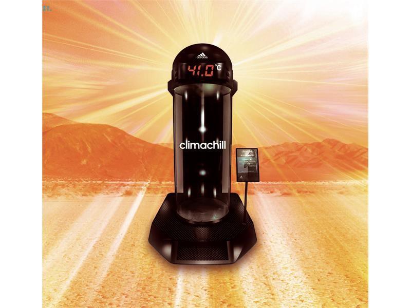 猛暑の気候を巨大シリンダーで再現!アディダス クライマテクノロジー「climachill」を体験できるCLIMA CYLINDER