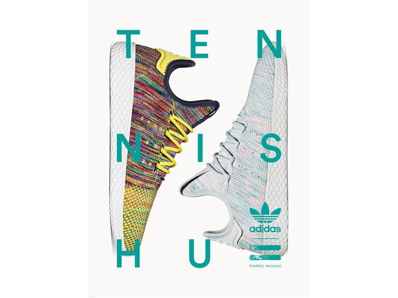 adidas Originals = PHARRELL WILLIAMS Tennis Hu Part II