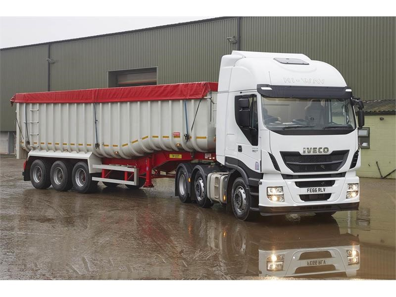 IVECO secures conquest heavy truck order from John Pointon & Sons