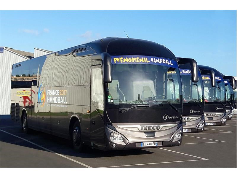 A fleet of Magelys coaches will transport all of the teams during the Handball World Championship in France!