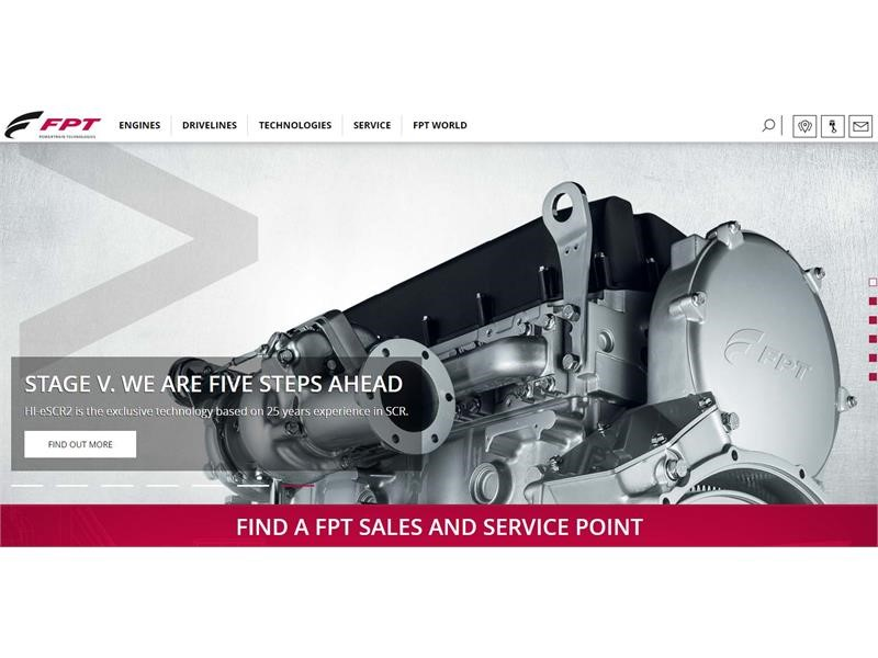 Powertrain Reloaded: FPT Industrial Chooses a Creative and Functional Style for its New Online Portal