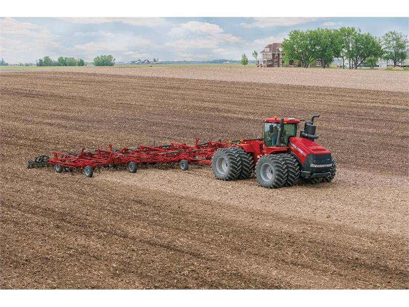 Case IH Steiger 620 tractor breaks performance records  at Nebraska Tractor Test Laboratory