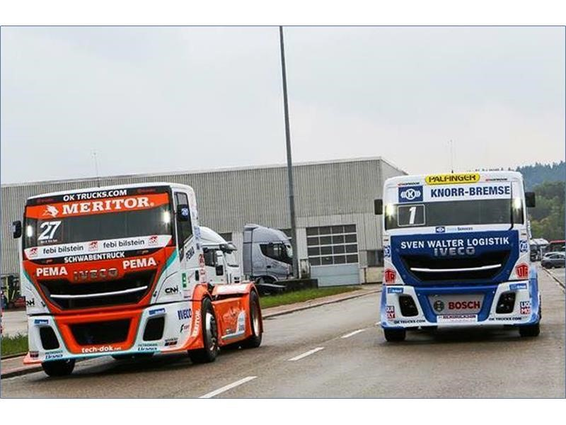 IVECO will double its presence at the European Truck Race 2017 with Team Schwabentruck and Team Hahn