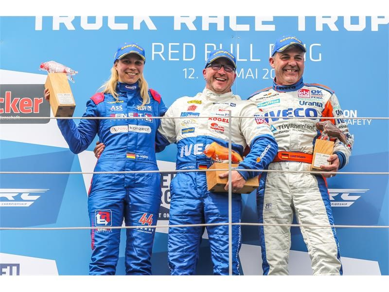 The Bullen of IVECO Magirus dominates 2017 Austrian Truck Race Trophy at Red Bull Ring