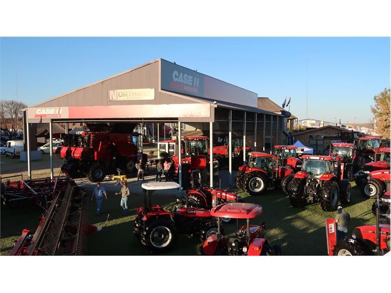 Case IH showcases its track technology at Nampo 2017 in South Africa