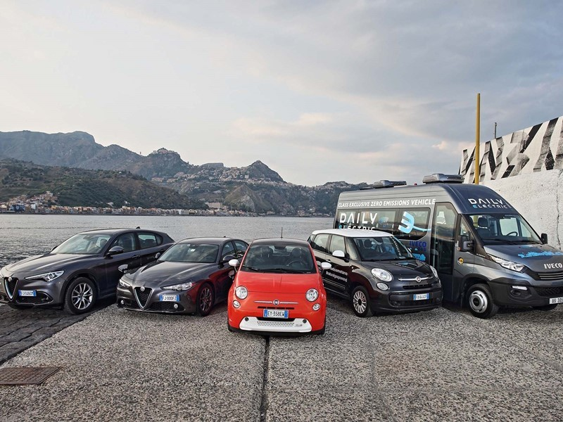 FCA and IVECO provide the fleet for the G7 summit in Taormina