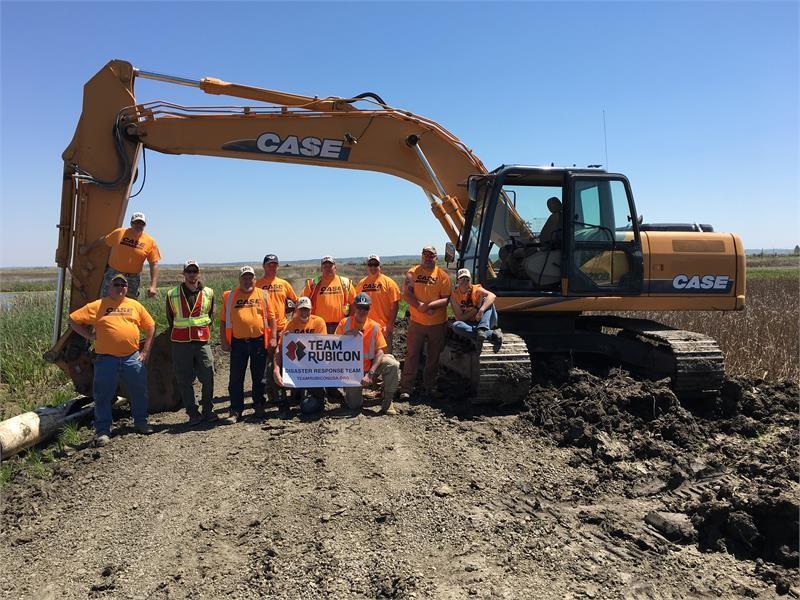 Titan Machinery Donates Equipment to Team Rubicon for Habitat Development Project at DeSoto National Wildlife Refuge