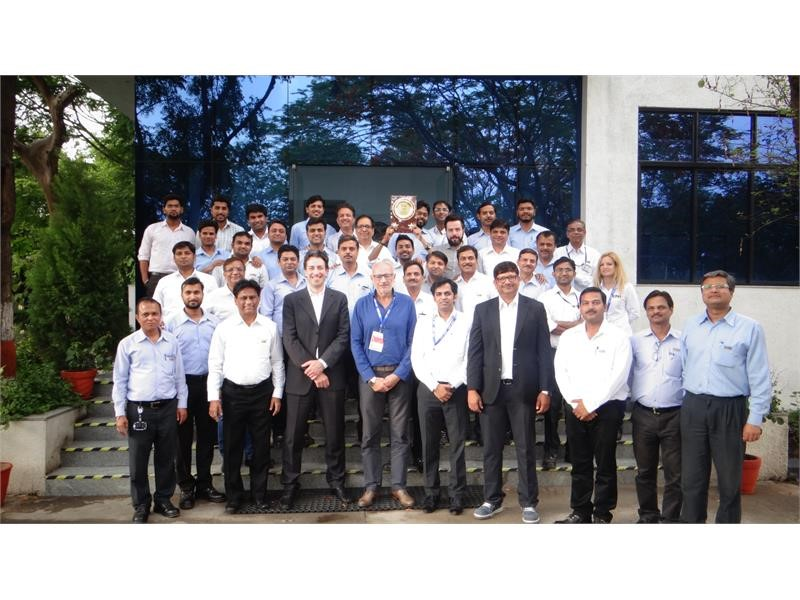 CNH Industrial plant in India achieves Bronze Level designation in World Class Manufacturing