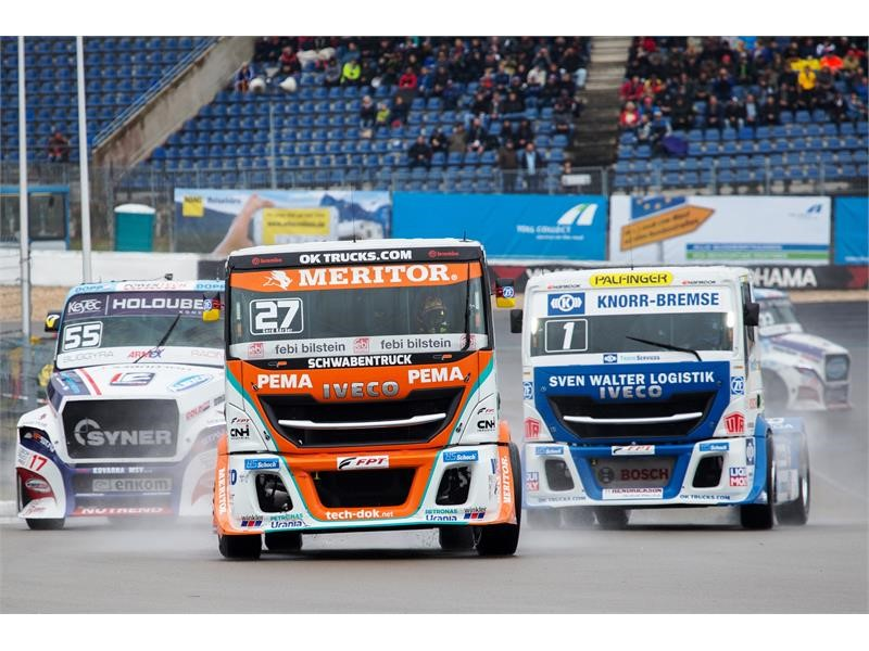 Nürburgring: The Bullen of IVECO Magirus step again on the podium with two third positions and finish second in the Team ranking
