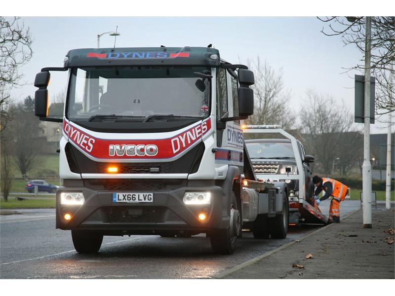 Recovery specialist Dynes Auto Services selects Eurocargo for three-truck order
