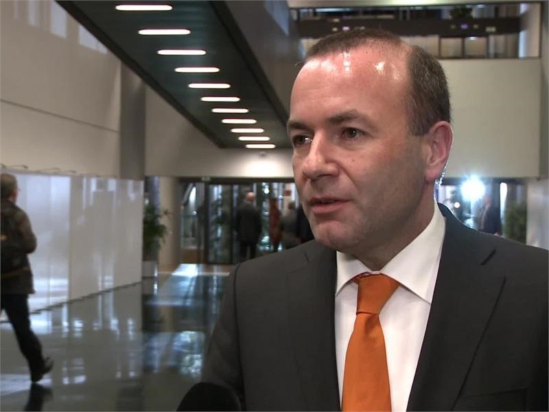 """""""Europe is united and strong"""" – Manfred Weber on Donald Trump criticism"""