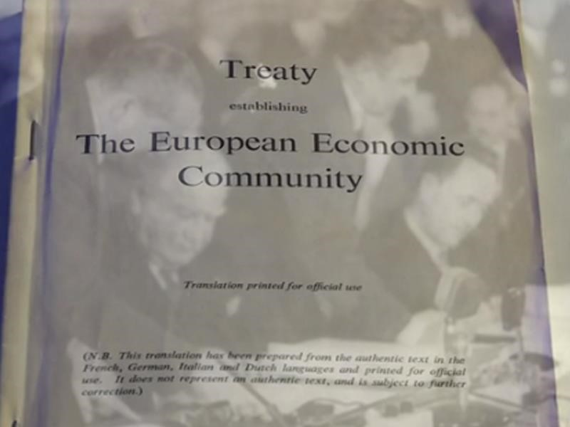 The 60th anniversary of the Treaty of Rome