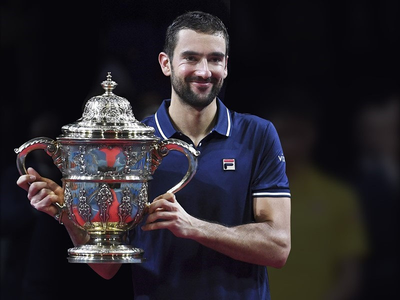 FILA Tennis Athlete Marin Cilic Wins 2016 Swiss Indoors Title & Qualifies for ATP World Tour Finals in London