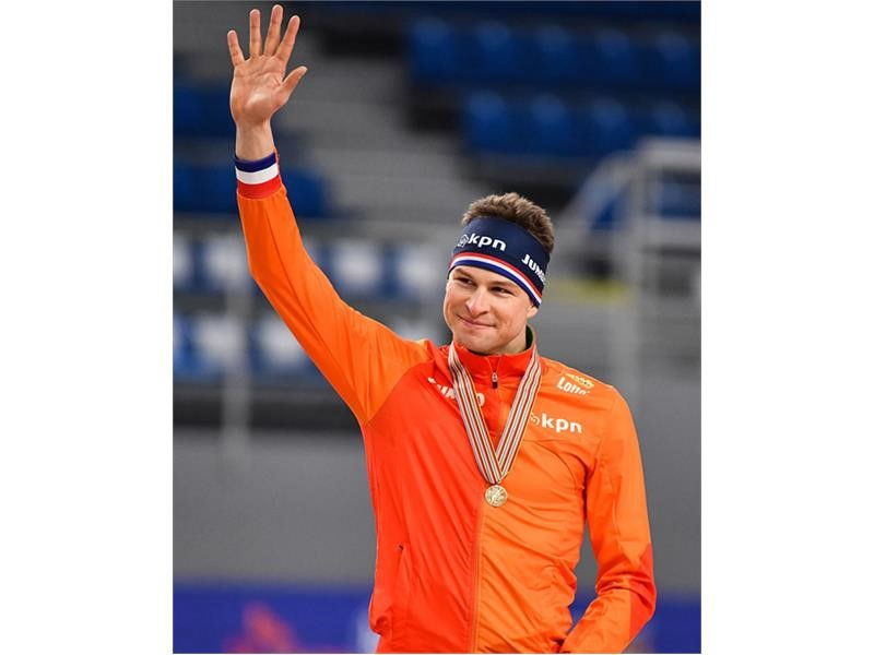 "Netherlands ""Skating Emperor"" Sven Kramer Secures 8th Title With a 5000m Win at the 2017 International Skating Union (ISU) World Single Distance Ch..."