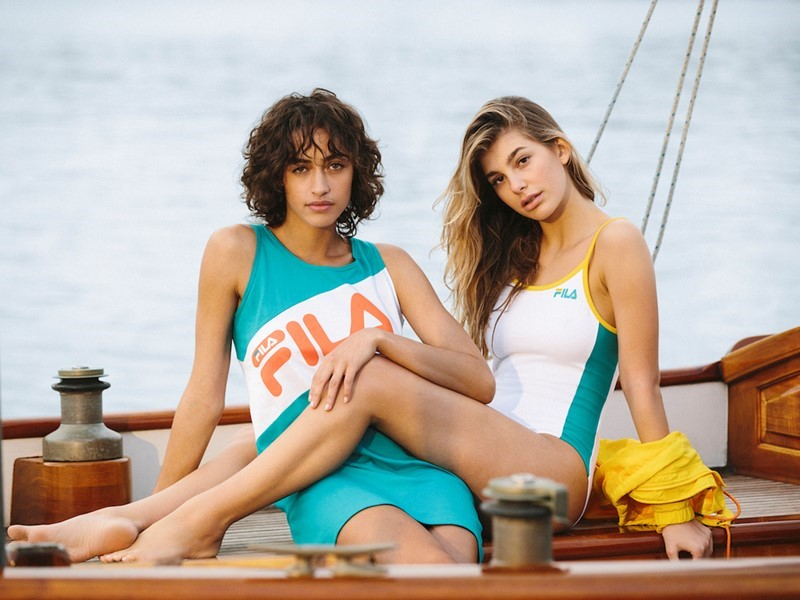FILA and Urban Outfitters Launch Sailing-Inspired Women's Capsule Collection