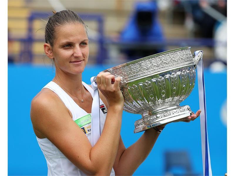 FILA Tennis Athlete Karolina Pliskova Secures the Eastbourne International Title