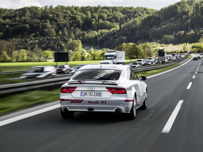 """New Technologies for Piloted Driving – Audi Participating in """"Digital Motorway Test Bed"""""""