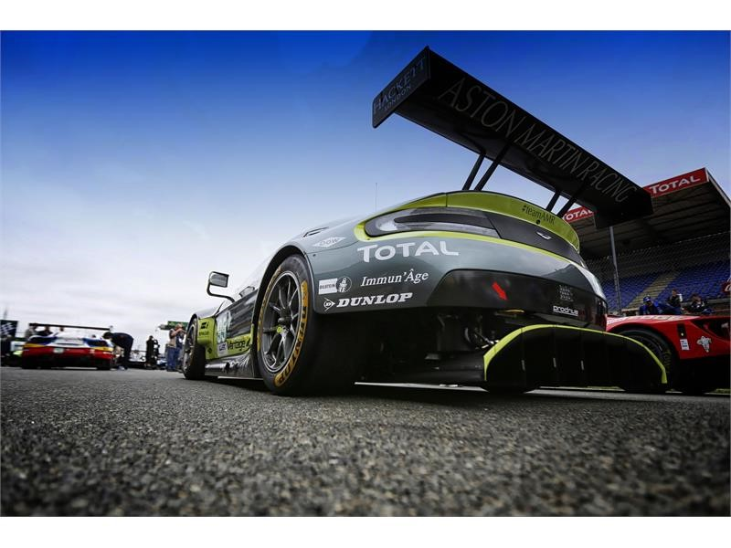 Aston Martin and Dunlop – the new GT partnership  at Le Mans 24h