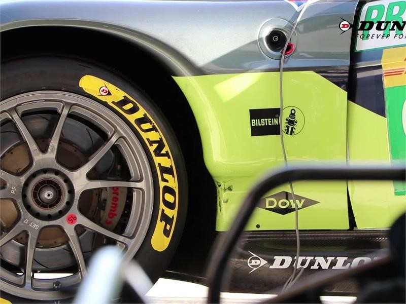Dunlop's Le Mans challenge with the new GT tyre regulations