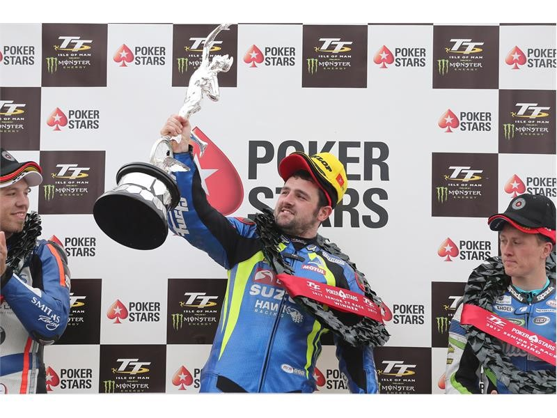 Michael Dunlop storms to Senior TT victory on Dunlops
