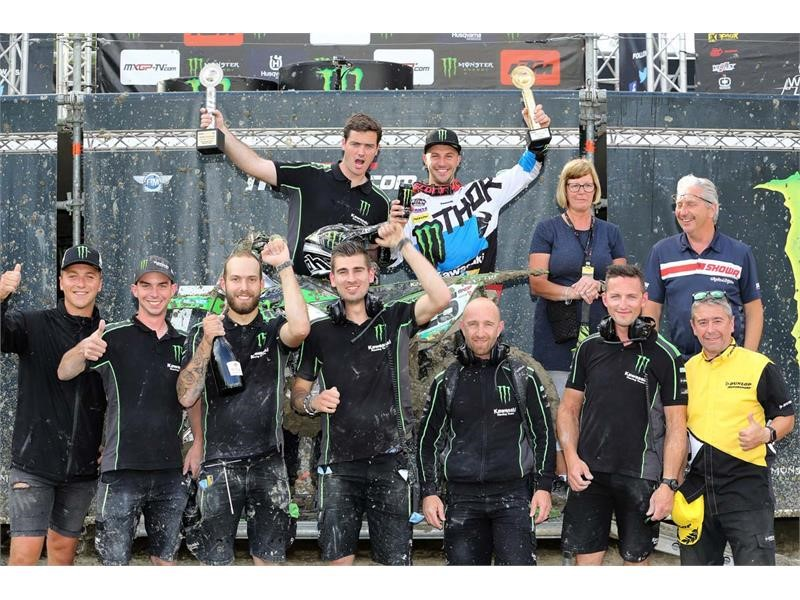 Clement Desalle uses Dunlop Geomax MX3S to grip second consecutive MXGP victory