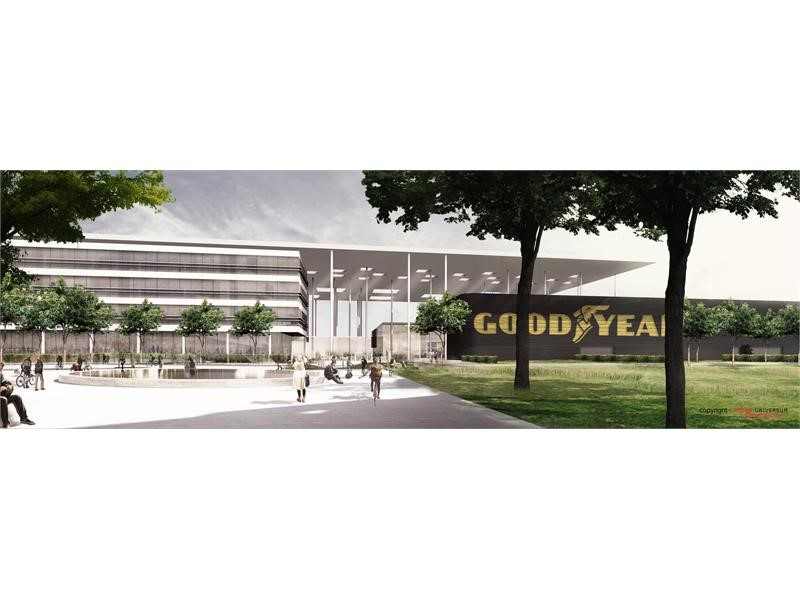 Goodyear Selects Development Partners for new Global Innovation Center and offices at the Luxembourg Automotive Campus