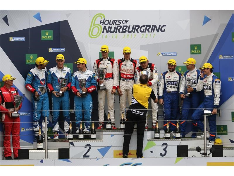 Double Dunlop win at Nurburgring 6h