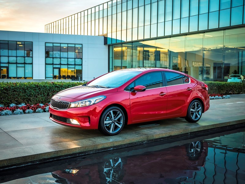 2017 Kia Forte Earns Top Safety Pick Plus Rating From Insurance Institute For Highway Safety