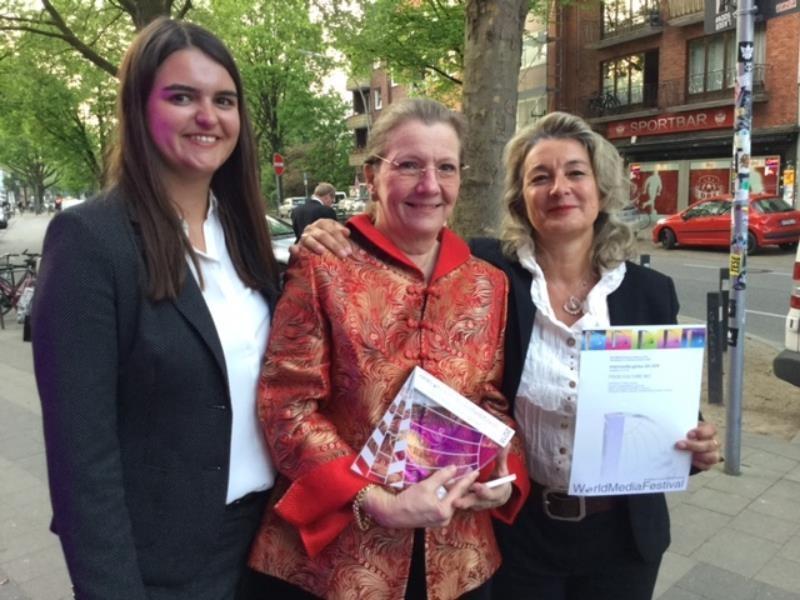 Food Culture Net gewinnt Silver Globe beim WorldMediaFestival 2016