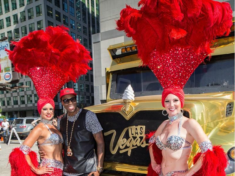 Vegas Season Surprise Pop-Up Brought Summer Sweet Treats To Toronto Streets