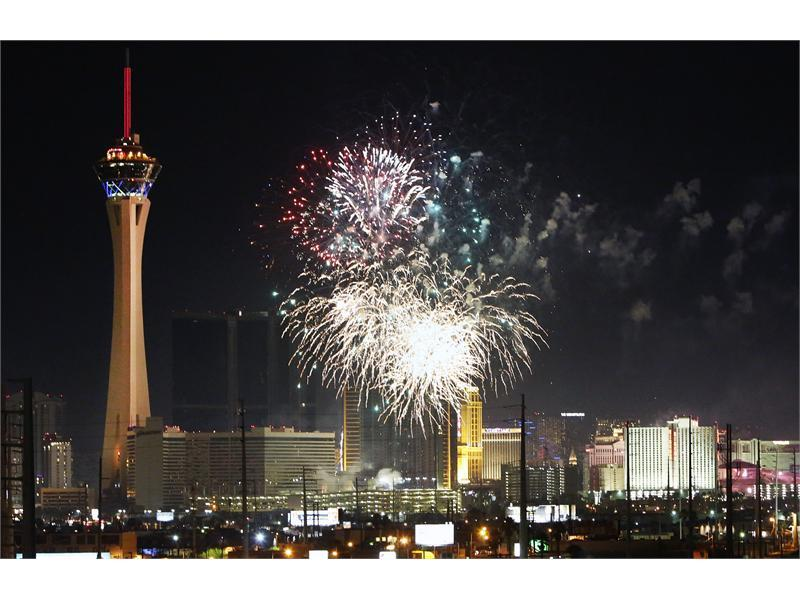 Las Vegas Fourth of July Fireworks