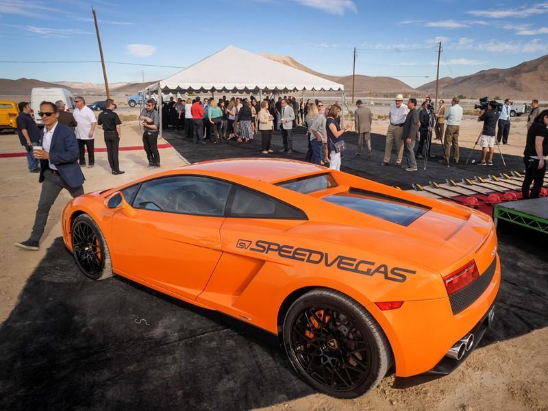 SpeedVegas Prepares to Burn Rubber in Las Vegas