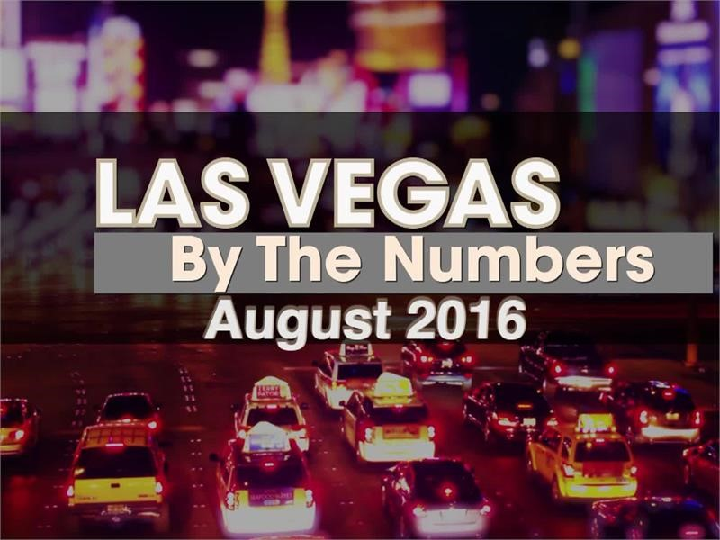 Las Vegas By The Numbers: August 2016 Count Totals 3.6 Million Visitors