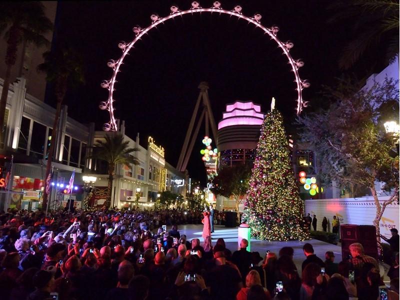 Las Vegas Provides Seasonal Festivities for Holiday Visitors