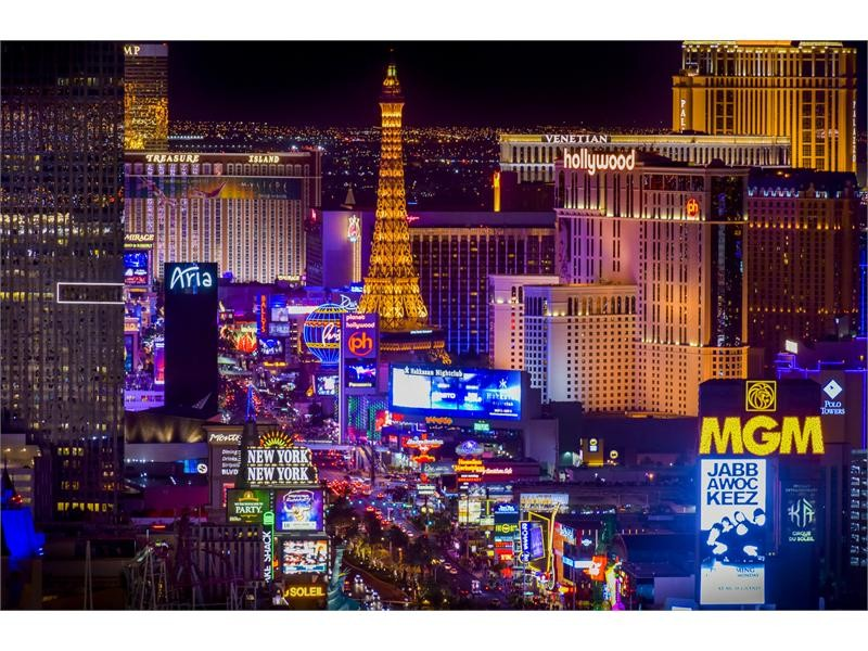 Las Vegas Named Best U.S. City at Travel Weekly's Readers Choice Awards