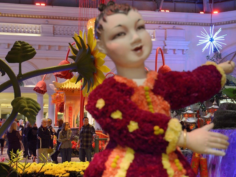 Las Vegas Celebrates the Year of the Rooster