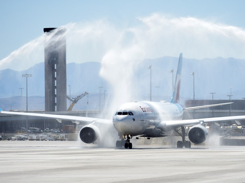 Eurowings Airline Launches New Nonstop Service from Cologne, Germany to Las Vegas